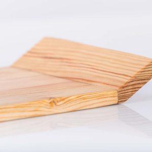 Tablett aus recyceltem Holz ressourcenschonendhergestellt Nachhaltigkeit Square Upcycling
