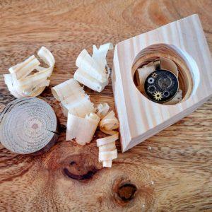 Upcyclingowe pudełeczko na biżuterię Square Upcycling